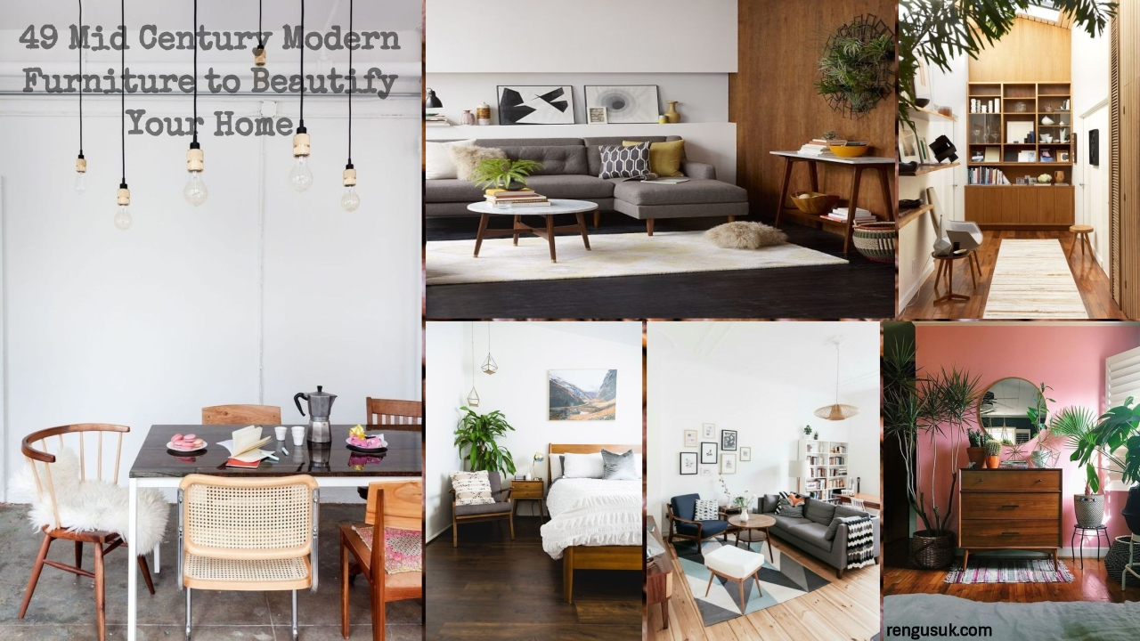 49 Mid Century Modern Furniture To Beautify Your Home