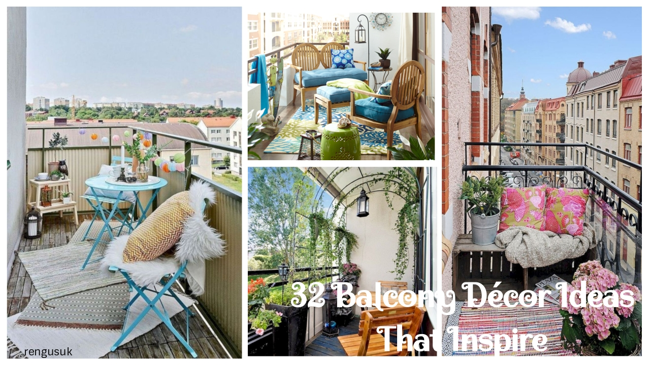 32 Balcony Decor Ideas That Inspire Rengusuk Com