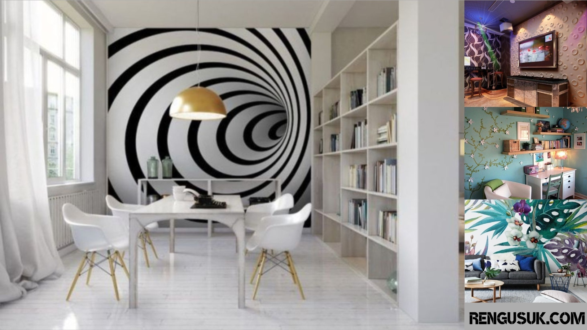 36 3d Wall Paint Design To Decorating Your House