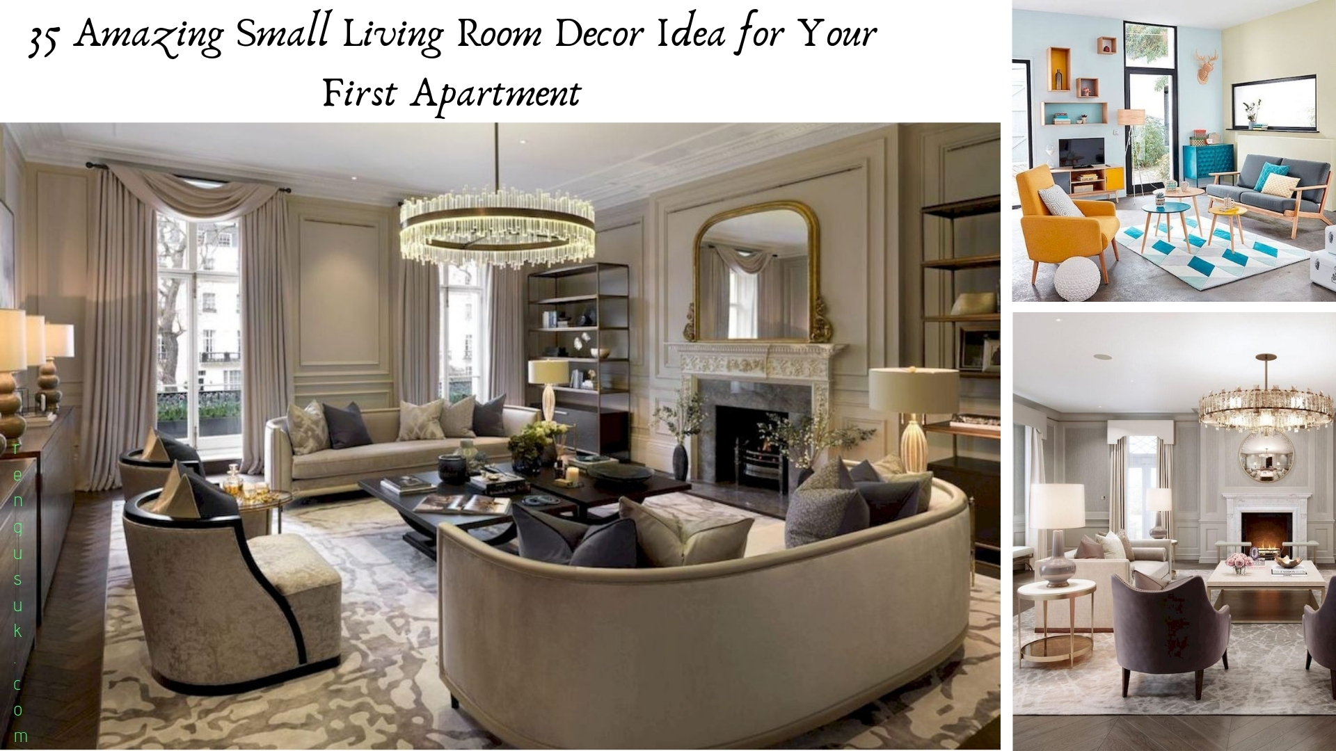 35 Amazing Small Living Room Decor Idea for Your First ...